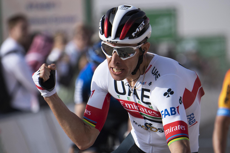 Rui Costa, ciclista português da UAE-Team Emirates.