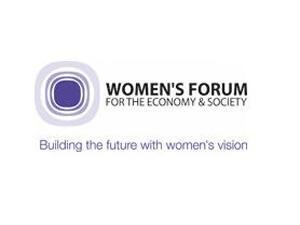 Logo du Women's forum.