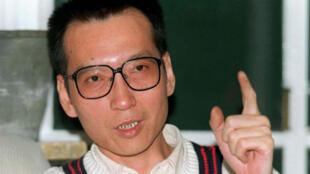 正在狱中服刑的中国异议知识分子刘晓波