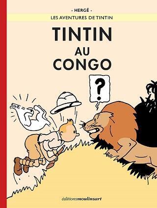 Tapa del nuevo 'Tintín en el Congo'.