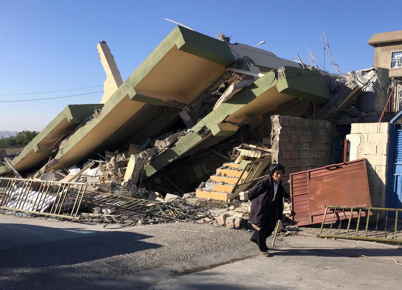 Le tremblement de terre du dimanche 12 novembre a fait des victimes et provoqué des dégâts aussi à Darbandikhan, en Irak.