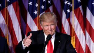 Zababben Shugaban Kasar Amurka Donald Trump