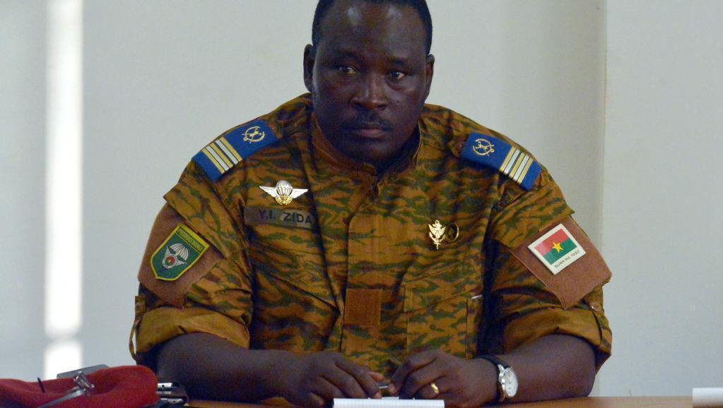 Burkina Faso's current leader Lieutenant-Colonel Isaac Zida