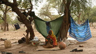 Réfugiés soudanais à l'est du Tchad, à la frontière avec le Darfour (illustration).