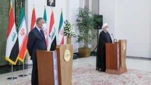 Le Premier ministre irakien, Mostafa al-Kazimi, s'est rendu en Iran le mardi 21 juillet. L'occasion pour les deux pays de réitérer leur souhait d'élargir leurs relations bilatérales.