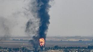 تشکیلات نیمه خودگردان کرد شمال سوریه، امروز پنجشنبه ۱۷ اکتبر/ ۲۵ مهر ماه در بیانیهای اعلام کردند که ترکیه از سلاح شیمیایی در سوریه استفاده کرده است.
