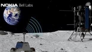 La Nasa a choisi le groupe finlandais Nokia pour déployer un réseau 4G sur la Lune.