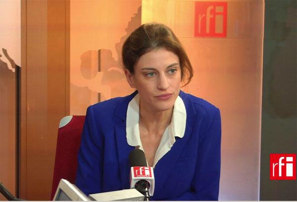 Juliette Méadel,porte-parole et secrétaire nationale à la politique industrielle du Parti socialiste.