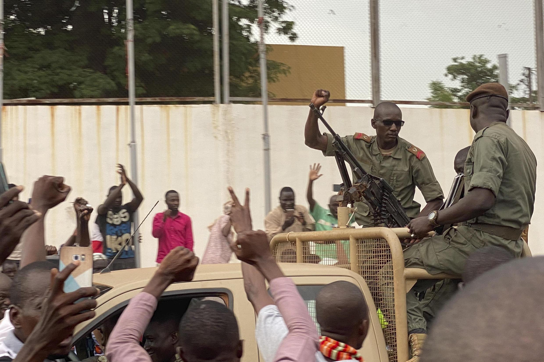 Jami'an sojin Mali a birnin Bamako bayan juyin mulki