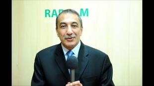 Ihsane El Kadi sur Radio M, en 2016.