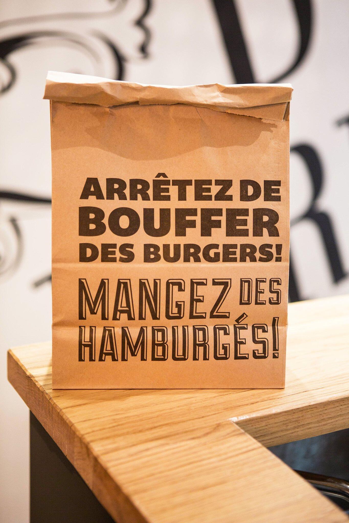 Big Fernand, бургерная быстрого питания