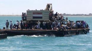Người tỵ nạn Yemen.