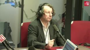 Thierry Vallat sur RFI le 15 août 2019.