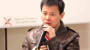 2011年1月20日,程益中在香港大学演讲。