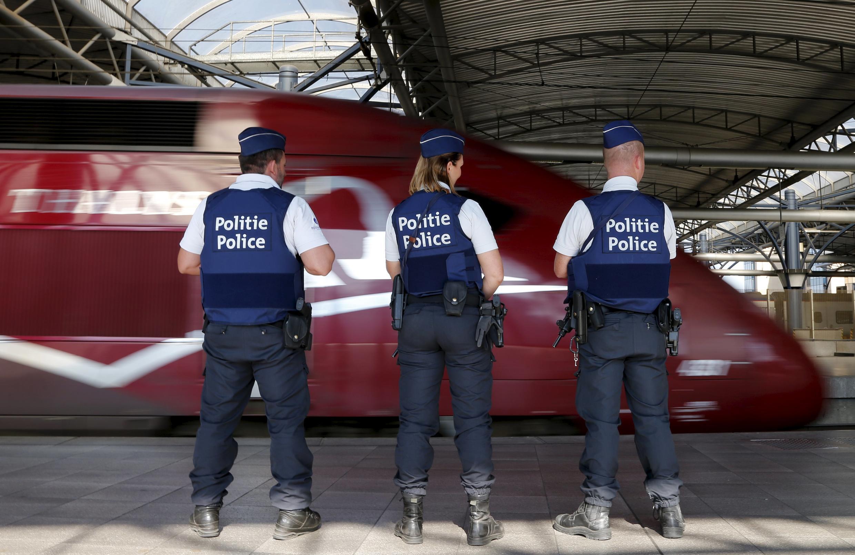 Cánh sát Bỉ tăng cường an ninh tại các nhà ga sau vụ khủng bố không thành trên Thalys - REUTERS /Francois Lenoir