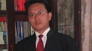 Ông Lưu Vệ Quốc, luật sư của ông Hứa Chí Vĩnh.