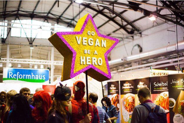 素食沙龍(Veggie World Paris)屬於歐洲的素食主義者們舉辦的大型沙龍