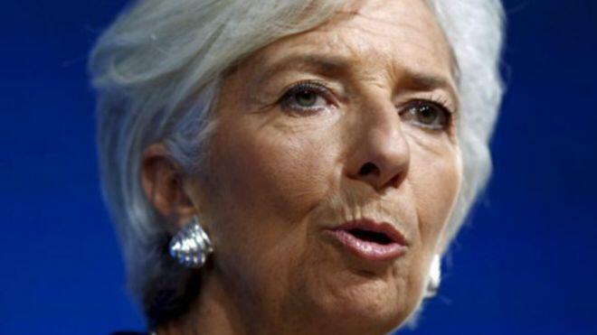 Christine Lagarde, Directora - geral do FMI