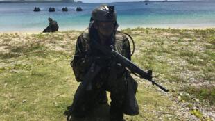 Tập trận đổ bộ bốn nước Mỹ-Pháp-Anh-Nhật tại Guam, Thái Bình Dương, ngày 13/05/2017
