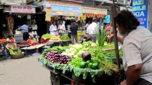 Les vendeurs ambulants de fruits et légumes côtoient les petits commerces familiaux comme les épiceries, papéteries, quincailleries ou vitreries.
