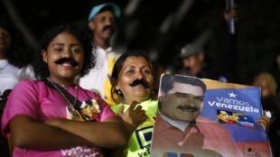 马杜罗的支持者们