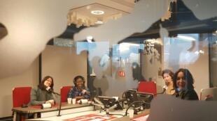 Ana Navarro Pedro, Kpenahi Traoré, Emmanuelle Bastide, Refka Payssan.