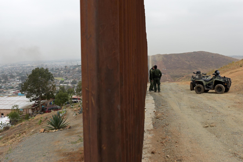Governo mexicano desloca 15 mil homens para a fronteira com os Estados Unidos (Foto ilustrativa feita em 18 de junho de 2019 na cidade de Tijuana).