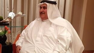خالد بن احمد آل خلیفه، وزیر امور خارجۀ بحرین