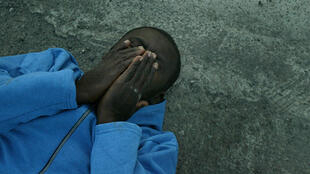 Une jeune migrant africain aux Canaries.