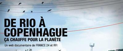 Réchauffement climatique : un webdocumentaire RFI-France 24