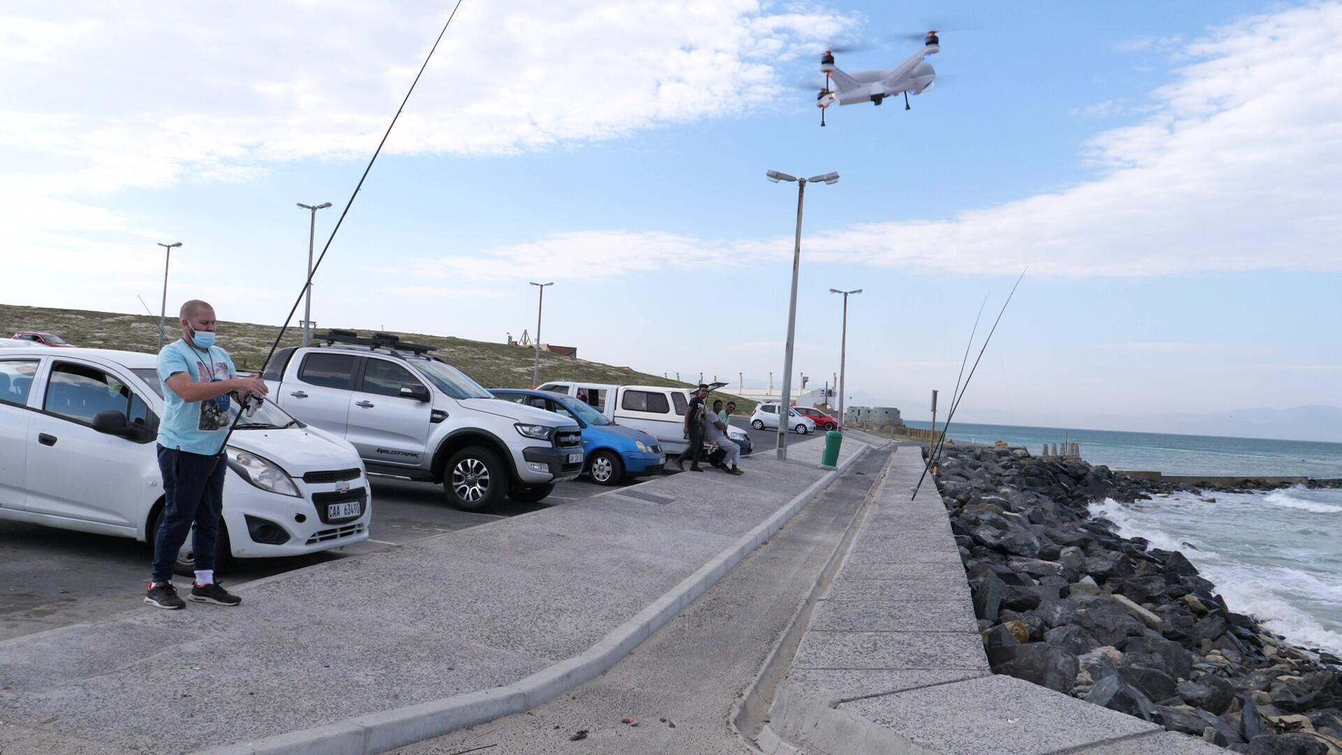 Afrique du Sud - Cap - Pêche au drone