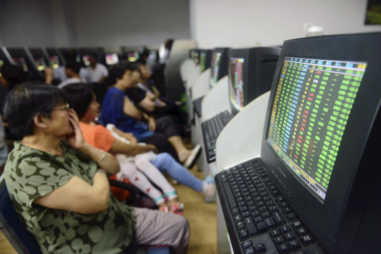 Le 27 juillet 2015, la Bourse de Shanghai a clôturé en baisse de 8,48%.