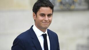 Gabrie Attal, porta-voz  do governo  francês