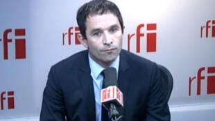 Benoît Hamon, ministre délégué auprès du ministre de l'Economie, des Finances, chargé de l'Economie sociale et solidaire et de la consommation.