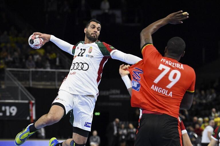 Angola perdeu por 24-34 frente à Hungria na segunda jornada da fase de grupos do Mundial de andebol.