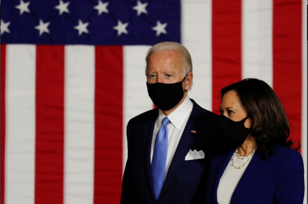 Joe Biden da Sanata Kamala Harris