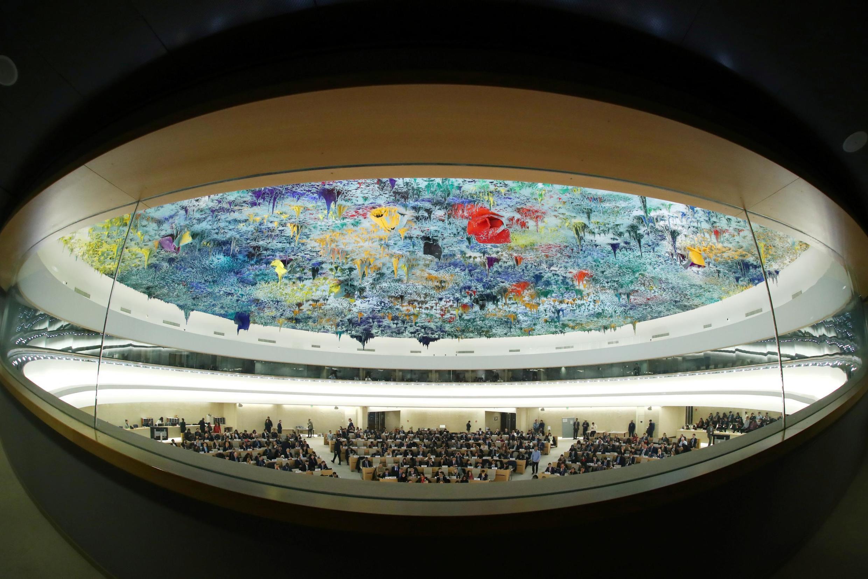 Заседание Верховного комиссариата по праввам человека в Женеве.