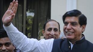 Foto de archivo del primer ministro paquistaní Raja Pervez Ashraf.