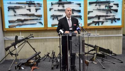 Plus de 5000 armes détenues illégalement ont été restituées aux autorités australiennes en 2017..