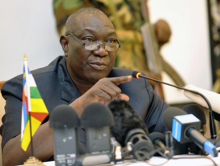 Michel Djotodia, président de la transition en République centrafricaine