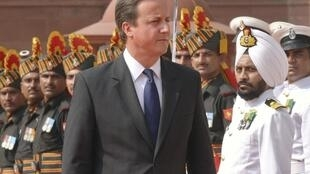 David Cameron in New Delhi