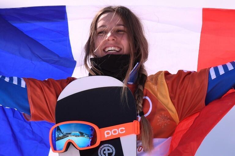 Julia Pereira de Sousa Mabileau arrecadou a medalha de prata nos Jogos Olímpicos de Inverno.