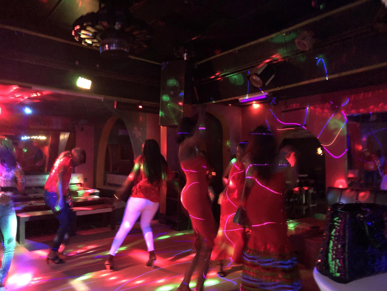 IMAGE Le dancing Le Zodiac à Bangui, Centrafrique.