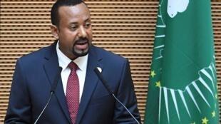 Le Premier ministre éthiopien Abiy Ahmed.
