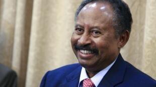 苏丹新总理ABdalla Hamdok宣誓就职  2019年8月21日喀土穆