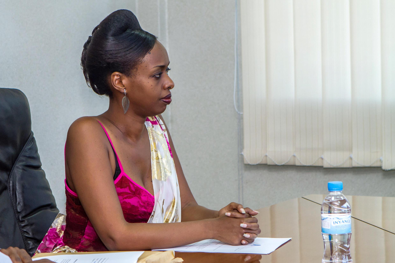 Diane Rwigara mkosoaji mkubwa wa Rais wa Rwanda Paul Kagame.