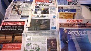 Diários franceses 03/06/2015