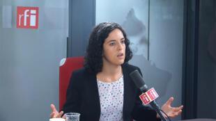 Manon Aubry, députée européenne France insoumise sur RFI, le 25 octobre 2019.