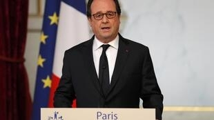 Президент Франции Франсуа Олланд, 22 июля 2016 г.