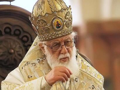 Патриарх грузинской православной церкви Илия II
